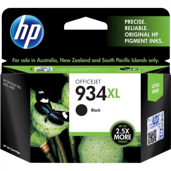 HP 934xl Black Ink Cartridge For Oj Pro C2P23AA