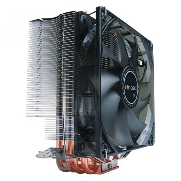 Antec Air Cpu Cooler 120mm Blue Led 77 Cfm Intel 775 11 ( C400 )