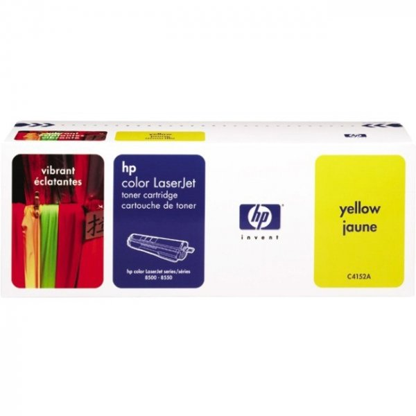 HEWLETT PACKARD HP Yellow Toner 8500 Page C4152A