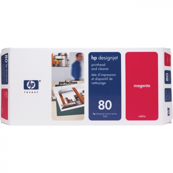 HP  80 Magenta Prnthead Cleaning Kit For C4822A