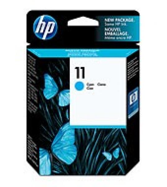 HP  11 Cyan Ink 2350 Page Yield For Bij Oj Pro C4836A