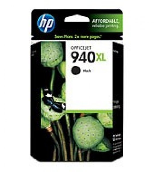 HP  940xl Black Ink 2200 Page Yield For Oj Pro C4906AA