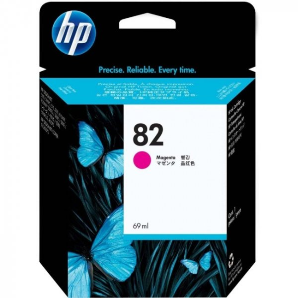 HP  82 Magenta 69-ml Ink Cartridge For C4912A