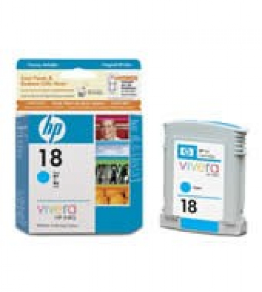 HP  18 Cyan Ink 625 Page Yield For Oj Pro C4937A