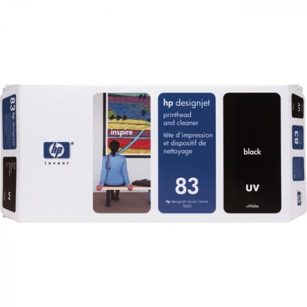 HP  83 Uv Black Printhead And Cleaner C4960A