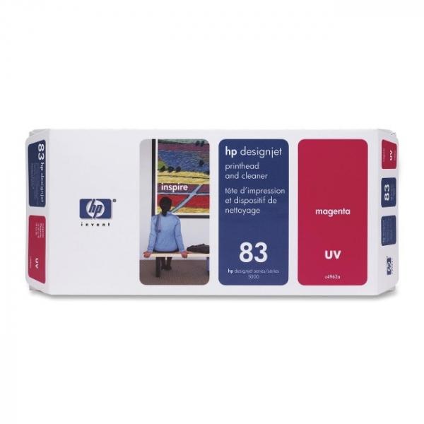 HP 83 Uv Magenta Ph And C4962A