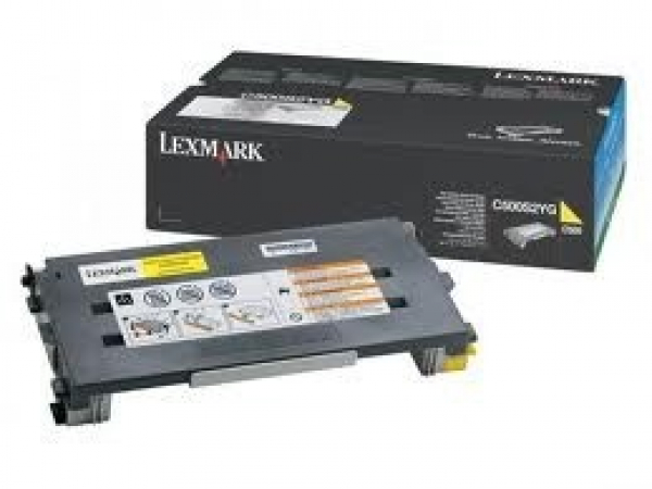 LEXMARK Yellow Toner Yield 1500 Pages For C500 C500S2YG