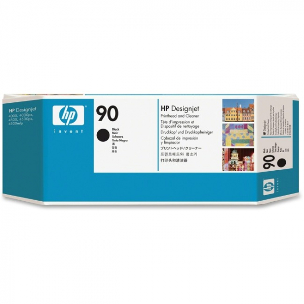 HP  90 Black Printhead And Cleaner For Dj C5054A