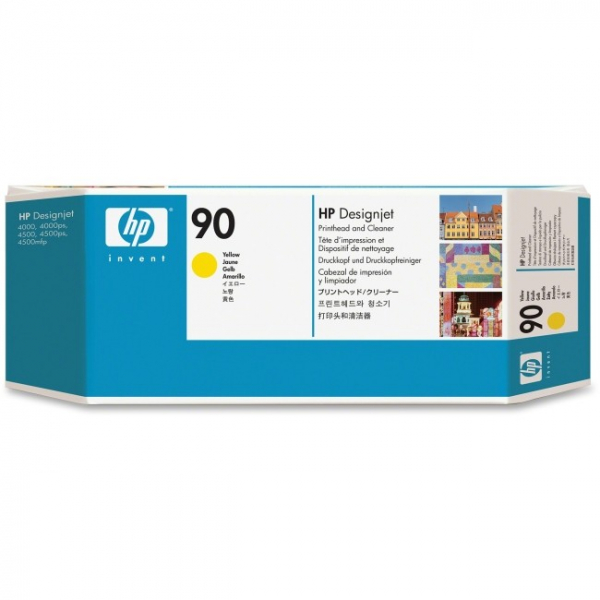 HP  90 Yellow Printhead Andcleaner For Dj C5057A