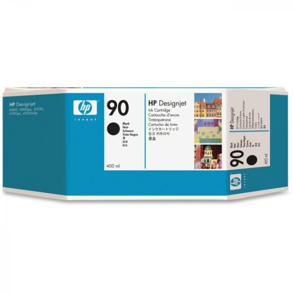 HP  90 Black Ink Cartridge 400 Ml For C5058A