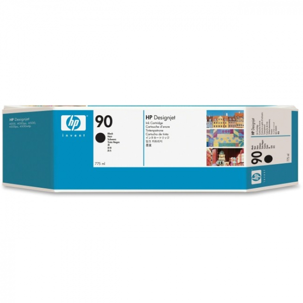 HP  90 Black Ink 775 Ml For Dj4000 C5059A