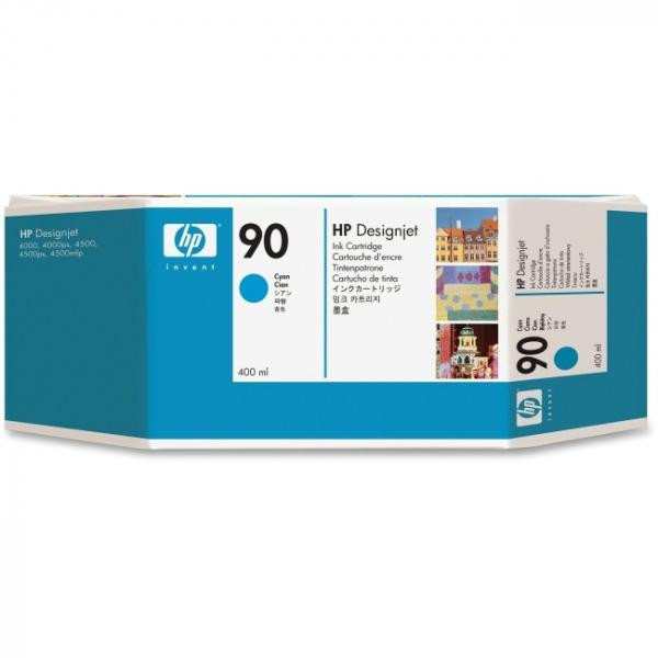 HP  90 Cyan Ink Cartridge C5061 400ml For C5061A