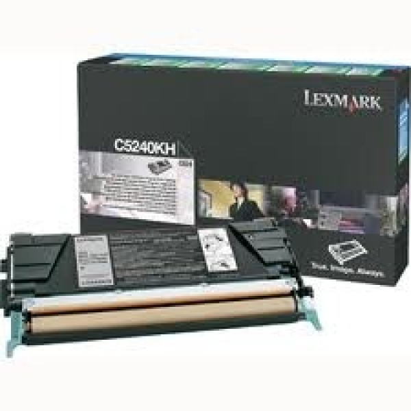 LEXMARK Black (prebate) Toner Yield 8000 Pages C5240KH