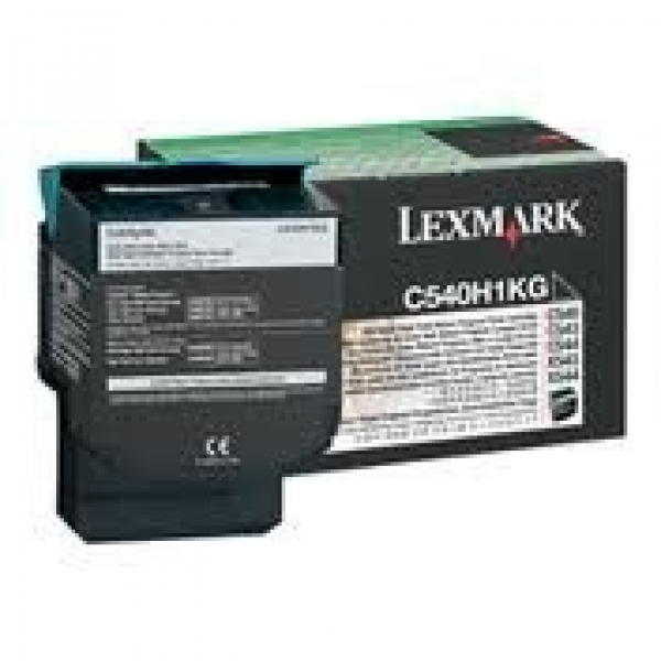 LEXMARK Lm Black Toner Yield 2.5k Pages For C540H1KG