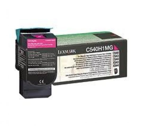 LEXMARK Magenta Toner Yield 2k Pages For C540 C540H1MG