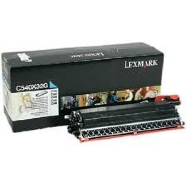 LEXMARK C54x X54x Cyan Developer Unit Yield 30k C540X32G