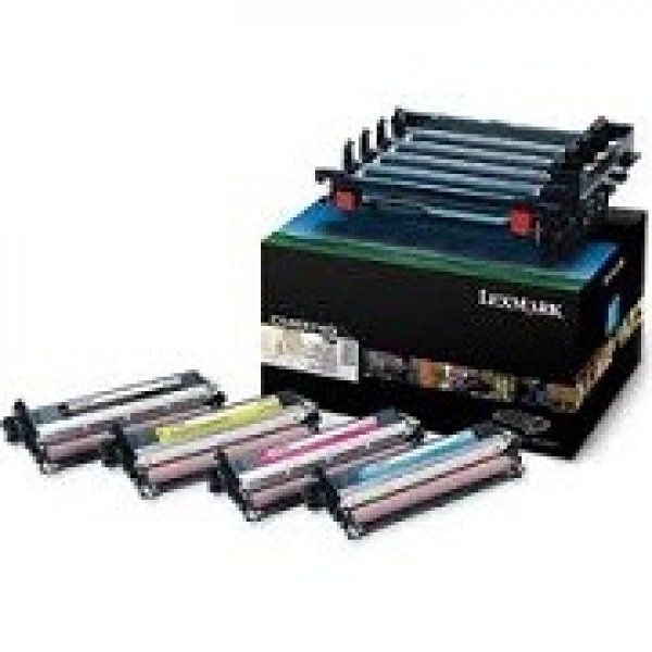 LEXMARK Black And Colour Imaging Kit Yield C540X74G