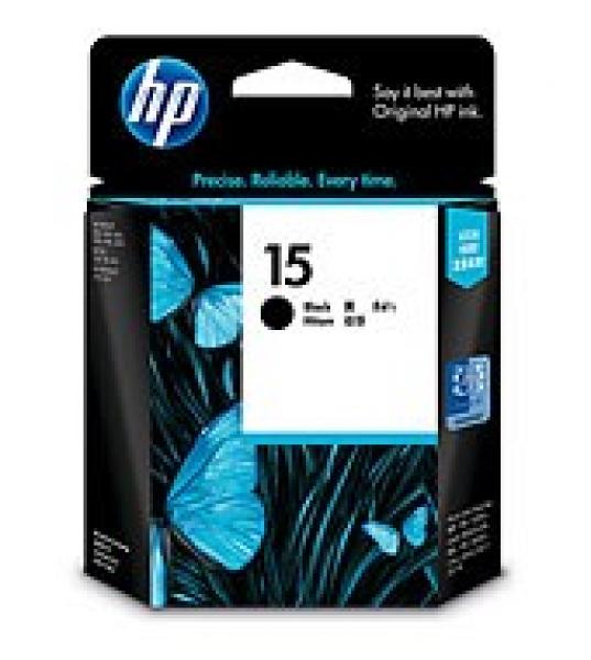HP  15 Black Ink 500 Page Yield For Dj 810 & C6615DA