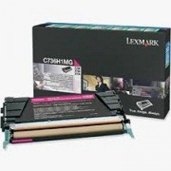 LEXMARK Magenta Toner Prebate Yield 10000 Pages C736H1MG