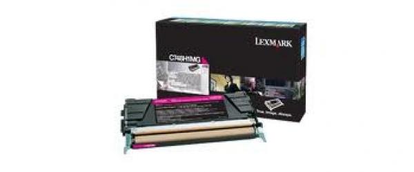 LEXMARK C748 Magenta High Yield 10k Toner C748H1MG