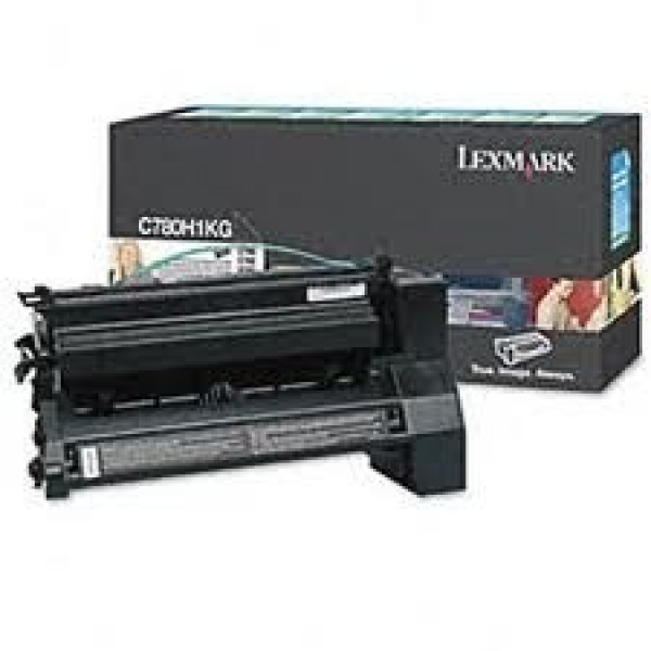 LEXMARK Black (prebate) Toner Yield 10000 Pages C780H1KG