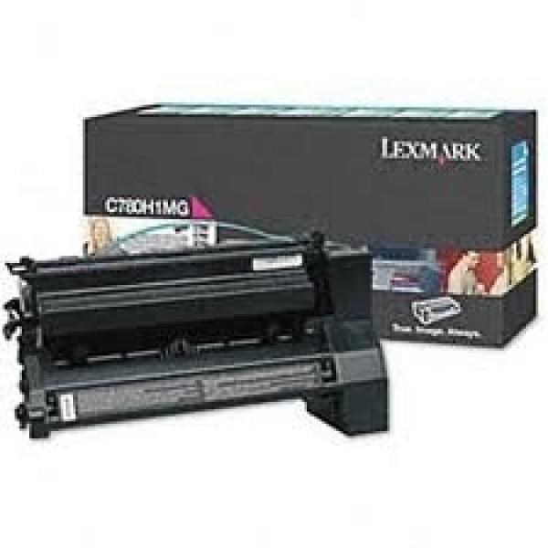 LEXMARK Magenta (prebate) Toner Yield 10000 C780H1MG
