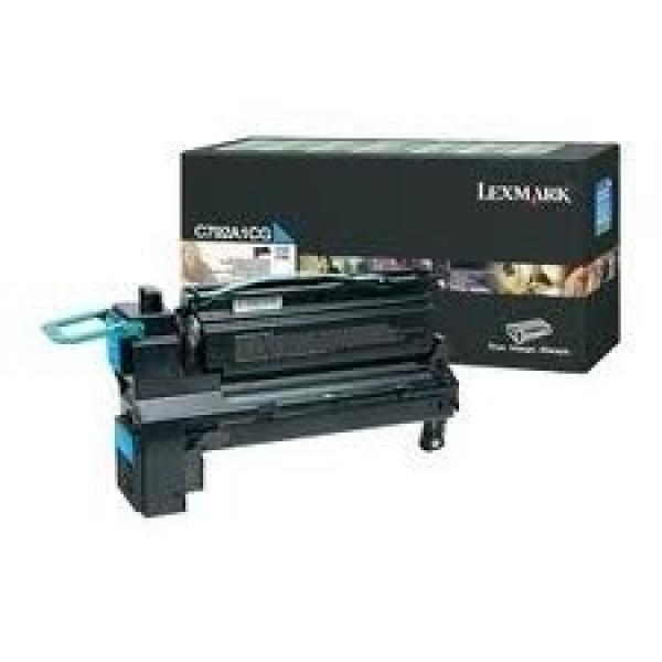 LEXMARK Cyan toner Cartridge C792A1CG