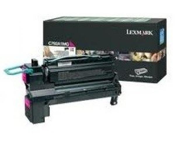 LEXMARK Magenta (prebate) Toner Yield 6000 C792A1MG