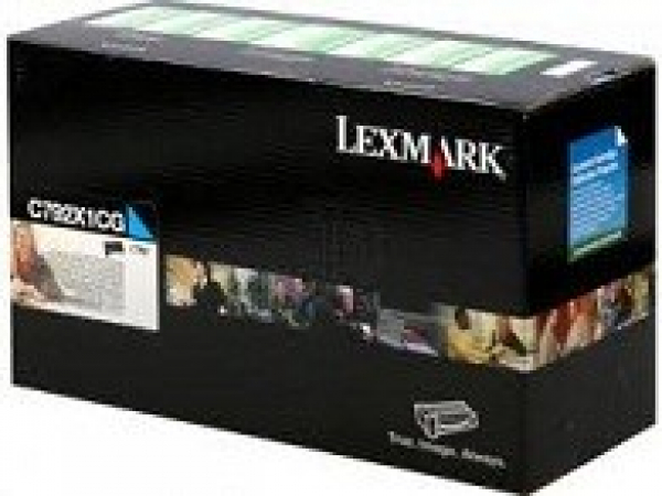 LEXMARK Cyan (prebate) Toner Yield 20000 Pages C792X1CG