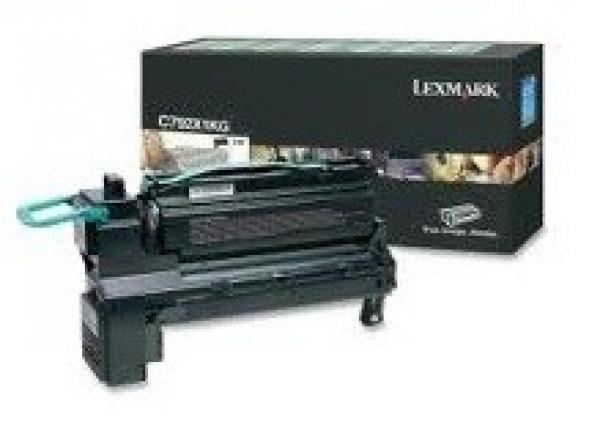 LEXMARK Black (prebate) Toner Yield 20000 Pages C792X1KG