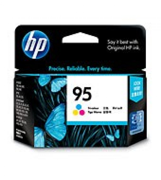 HP  95 Tri-colour Ink 330 Page Yield For Psc C8766WA