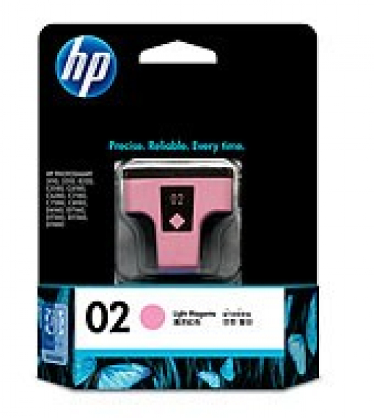 HP  02 Light Magenta Ink 230 Photo Yield For C8775WA