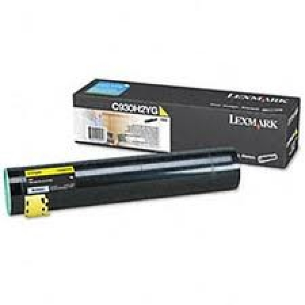 LEXMARK Yellow Toner Yield 24000 Pages C930H2YG