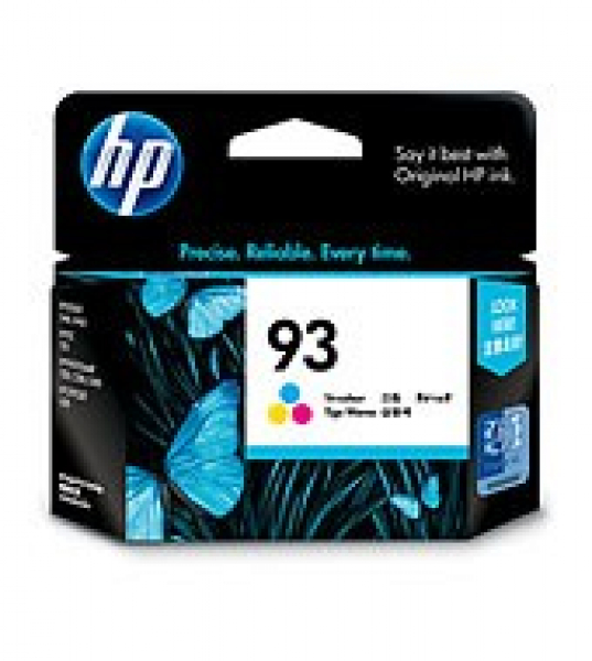 HP  93 Tri-colour Ink 220 Page Yield For Dj C9361WA