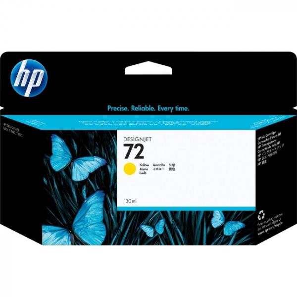 HP  72 Yellow Ink Cartridge 130 C9373A