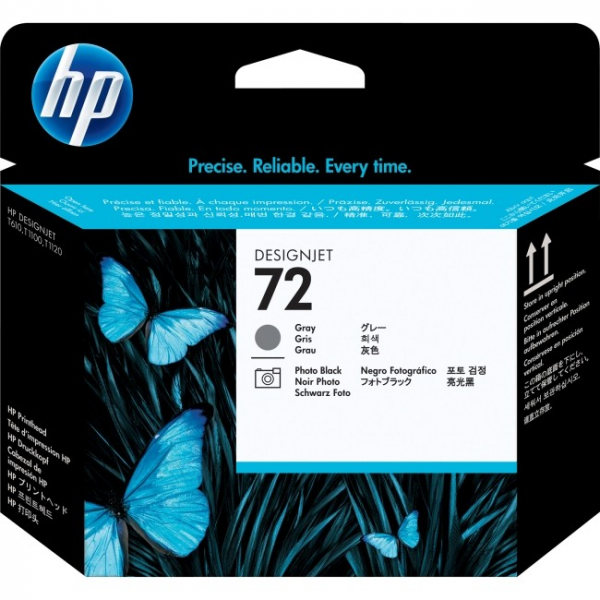 HP  72 Gray And Photo Black C9380A