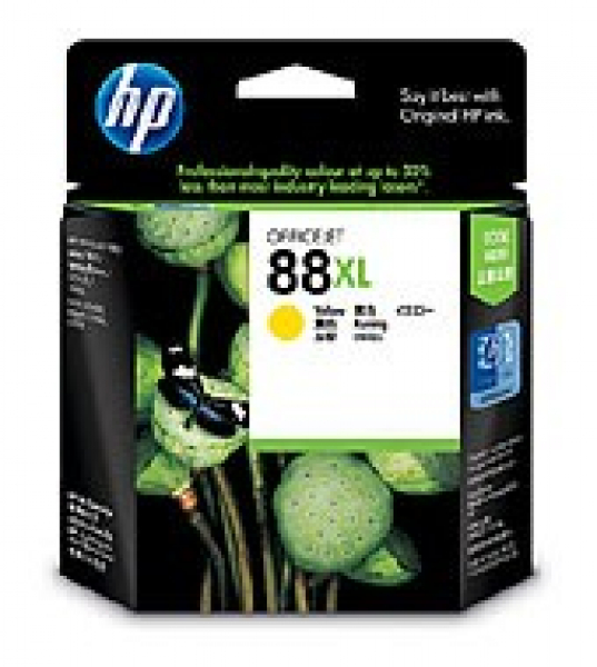 HP  88xl Yellow Ink 1540 Page Yield For Dj Pro C9393A