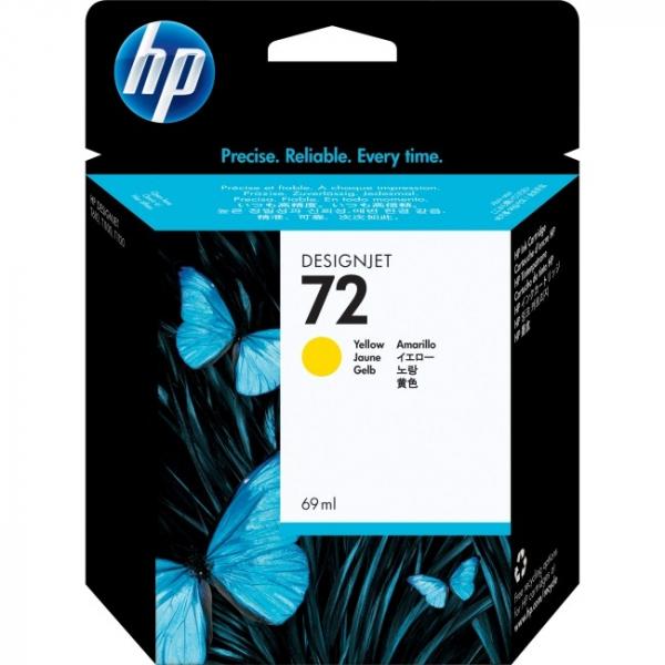 HP  72 Yellow Ink Cartridge 69 C9400A