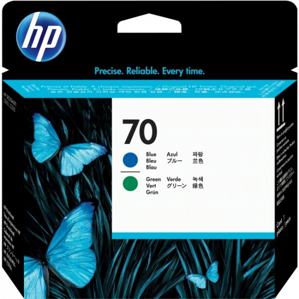 HP  70 Blue And Green C9408A