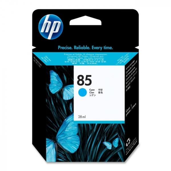 HP  85 Cyan Ink 28ml Cartridge For Dj C9425A