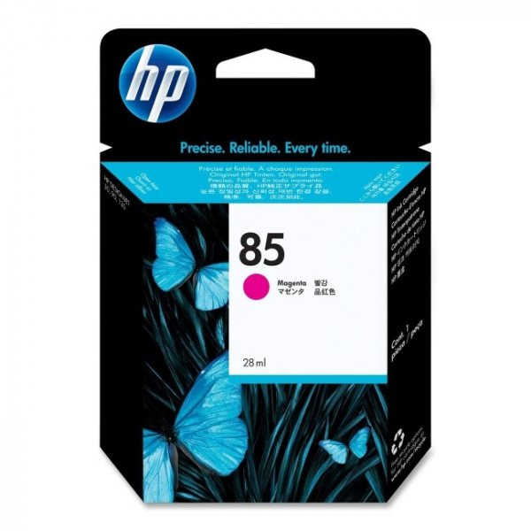 HP  85 Magenta 28ml Ink Cartridge For Dj 70 C9426A