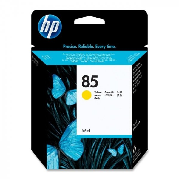 HP  85 Yellow 69ml Ink Cartridge For Dj 70 C9427A