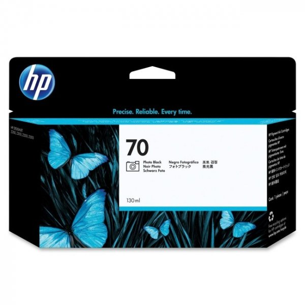 HP  70 Photo Black Ink Cartridge 130 Ml For C9449A