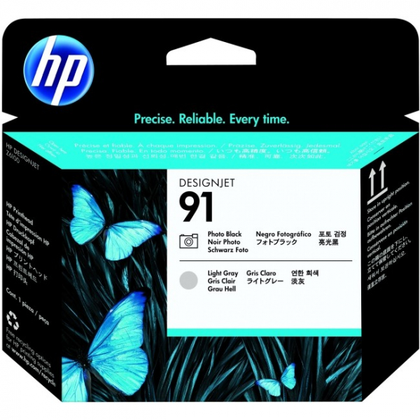 HP  91 Photo Black And Light Grey C9463A
