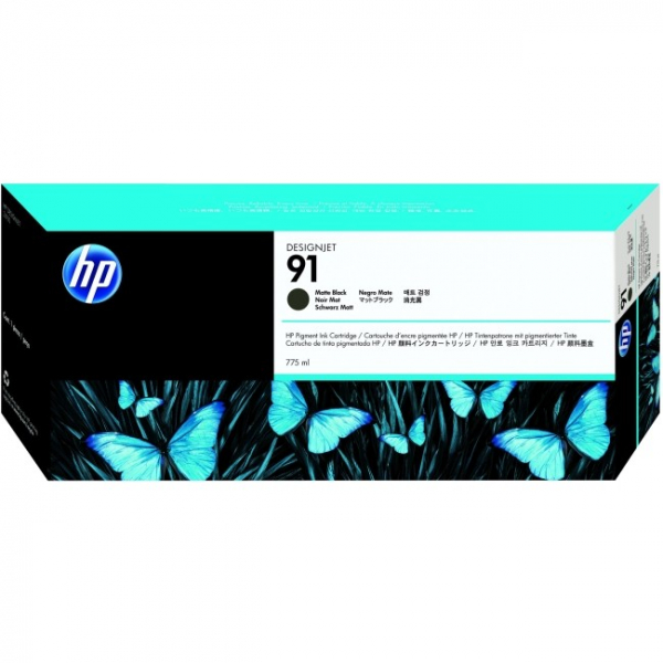 HP  91 775-ml Matte Black For Dj C9464A