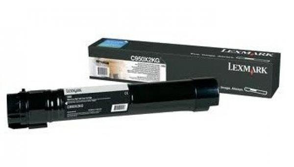 LEXMARK C950 Black Toner Yield C950X2KG