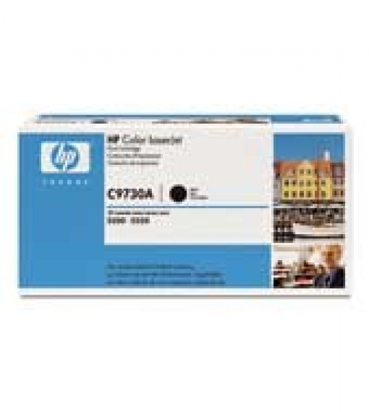 HP  645a Black Toner 13000 Page Yield For Clj C9730A