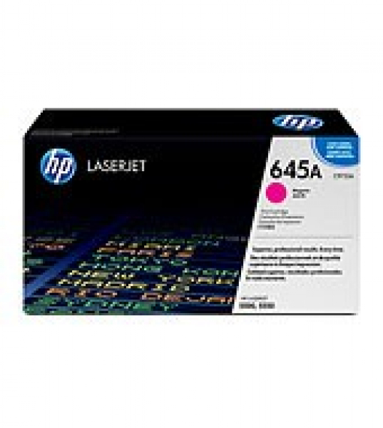 HP  645a Magenta Toner 12000 Page Yield For C9733A