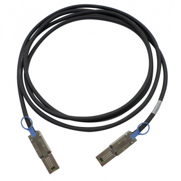 Qnap 2MT MINI SAS CABLE (SFF-8088) NAS Accessories (CAB-SAS20M-8088)