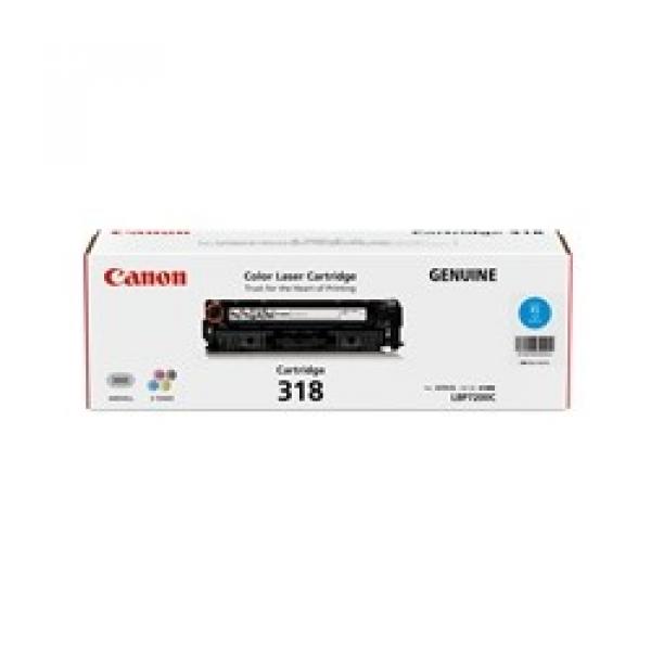 CANON Cyan Toner Cartridge For CART318C